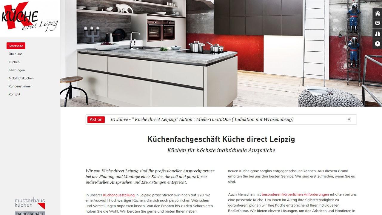 Kuchenfachgeschaft Kuche Direct Macrocom Online Kommunikation