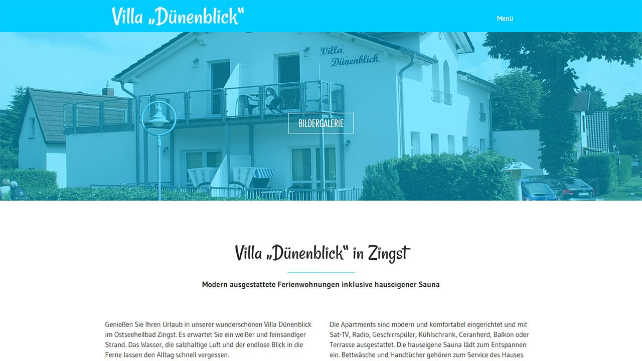 Villa Dünenblick